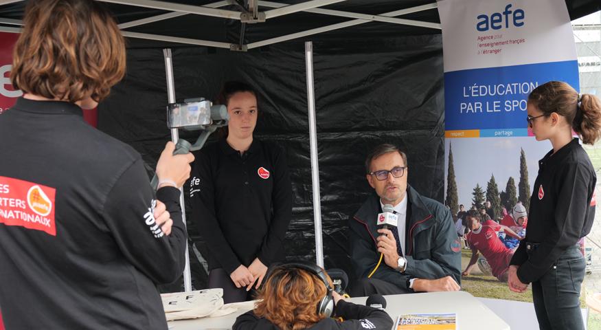 Interview d'Olivier Brochet par les JRI AEFE