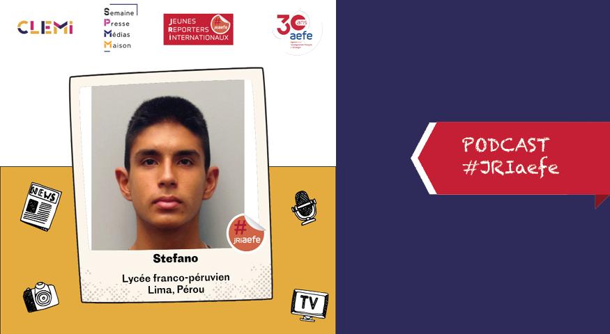 Podcast de Stéfano, JRI à Lima