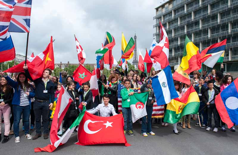Les Ambassadeurs en herbe 2014 à l'UNESCO