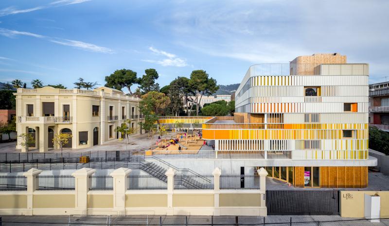 La maternelle du Lycée français de Barcelone