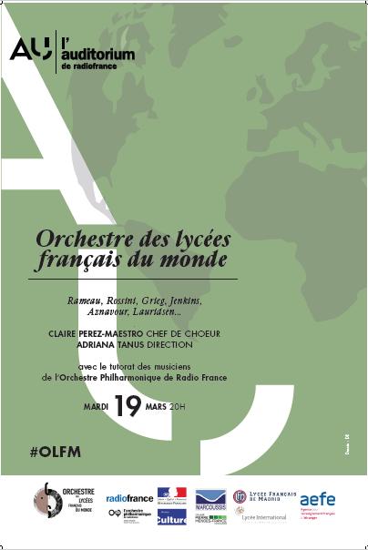 Aperçu de l'affiche du concert à Radio France