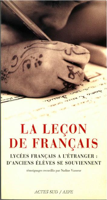 """Image de la couverture du livre """"La Leçon de français"""""""