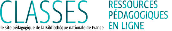 Logo du portail pédagogique Classes de la BNF