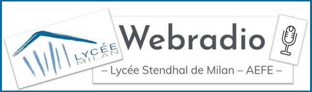Logo de la Webradio du lycée Stendhal de Milan