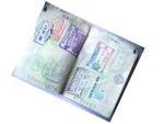 Passeport ouvert