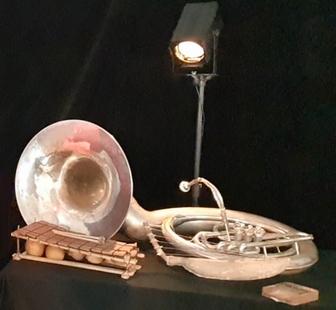Photo d'instruments de musique de l'artiste Étienne Sibille