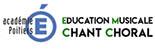 Vignette avec un lien vers le site d'éducation musicale et de chant choral de l'académie de Poitiers