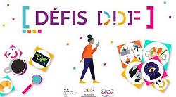 """Visuel pour l'application """"Défis DDF"""""""