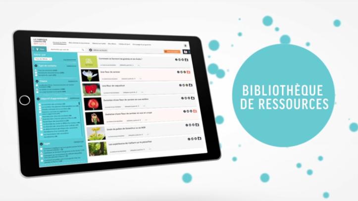 Visuel illustrant la bibliothèque de ressources Belin Éducation