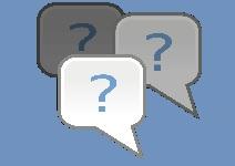 Pictogramme évoquant une foire aux questions