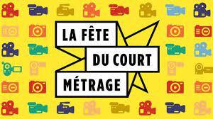 Visuel pour la Fête du court métrage  (logo et pictos représentant des caméras)