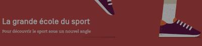 Visuel du site La Grande École du sport