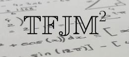 """Visuel pour les """"Tournois français des jeunes mathématiciennes et mathématiciens"""" ou TFJM au carré"""