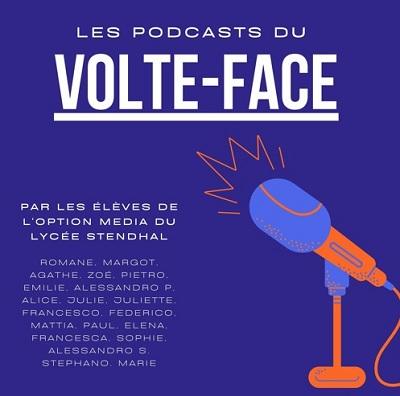"""Visuel pour """"Les podcast du Volte-Face"""""""