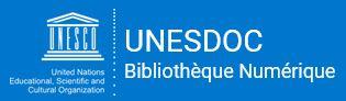 Visuel UNESDOC, biblothèque numérique de l'UNESCO