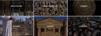 Visuels des dossiers de l'IMA de découverte du monde arabe