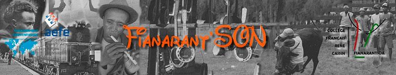 Logo du projet de sonothèque Fianarant'Son