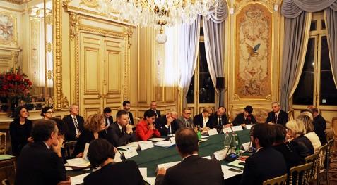 Réunion interministérielle sur la stratégie de développement de l'enseignement français à l'étranger