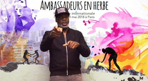Ménélik, parrain de la 6e rencontre internationale des Ambassadeurs en herbe