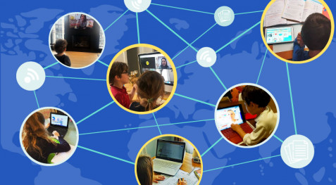 Continuité pédagogique à distance… quand tout le réseau scolaire mondial se mobilise pour que l'école continue à la maison