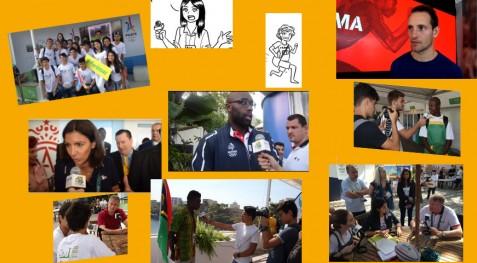De jeunes reporters à Rio pour couvrir les Jeux olympiques 2016