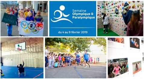 De multiples projets pédagogiques autour de la Semaine olympique et paralympique 2019