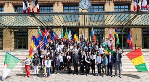 Retour en images sur une rencontre des ambassadeurs en herbe olympique !