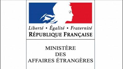 Logo du ministère des Affaires étrangères. © MAE