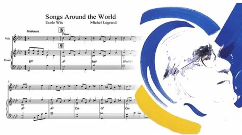 Songs around the world : une mélodie de Michel Legrand pour les lycées français du monde