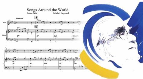 Songs around the world : une mélodie de Michel Legrand pour les lycées français du monde