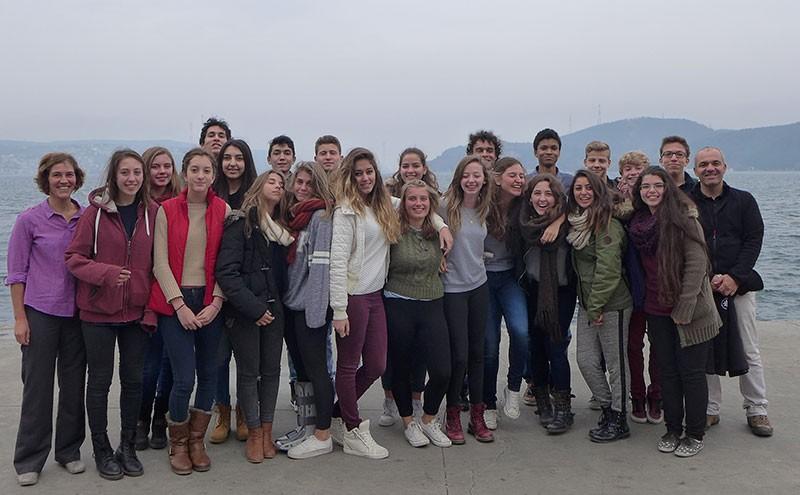 Les participants à l'Expédition © Lycée français Pierre-Loti d'Istanbul
