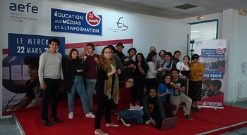 """Journées """"Éducation aux médias et à l'information"""" aux lycées français de La Marsa et de Bruxelles"""