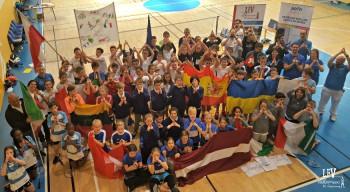 2e édition de l'Euro scolaire de badminton à Varsovie