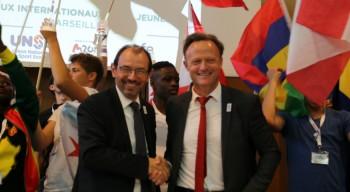 L'AEFE et l'UNSS renforcent leur partenariat pour la période 2017-2020