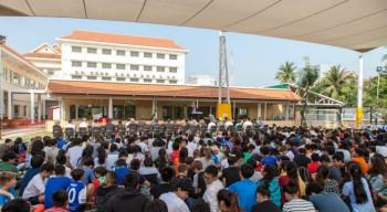 À Phnom Penh et Vientiane, les lycées français font peau neuve et augmentent leur capacité d'accueil