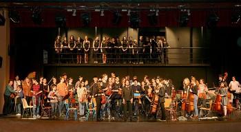 À Madrid, répétition générale réussie de l'Orchestre des lycées français du monde et du chœur de Marcoussis !