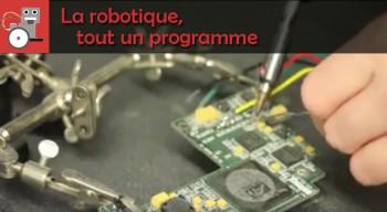 La robotique, tout un programme : concours proposé par le lycée français Victor-Hugo de Francfort