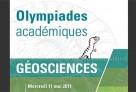Organisation du concours académique des Olympiades de géosciences 2011