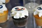 Des cupcakes fabriqués aux couleurs de la France et de l'Australie