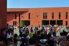 Présentation du nouveau lycée Jean-Mermoz de Dakar à la presse