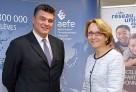 Visite et conférence de presse de M. le ministre David Douillet à l'AEFE