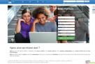 Aperçu de la page d'accueil du site agora-aefe.fr,  un site de mise en réseau des élèves de la zone Asie-Pacifique et d'aide à l'orientation. © AGORA-AEFE