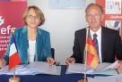 Signature de la convention de coopération entre l'AEFE et la ZfA