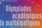 Affiche de l'édition 2011 des Olympiades académiques de mathématiques