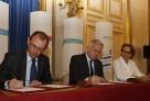 Signature du contrat d'objectifs et de moyens (2016-2018) de l'AEFE