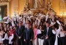 Cérémonie au Quai d'Orsay en l'honneur des boursiers Excellence-Major de la promotion 2014-2019
