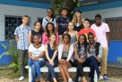 Les élèves de 3e de Douala (Cameroun) dont le travail a été distingué au Concours national de la Résistance et de la Déportation 2013.