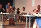 Enregistrement de l'émission la danse des mots consacrée au concours les OrthogrAfriques à l'Institut français de Brazzaville