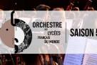 Les musiciens de l'Orchestre des lycées français du monde – saison 2018/2019