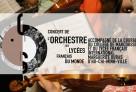 Le 14 janvier à 12h00 (UTC+1), direct radio depuis Ho-Chi-Minh-Ville du 1er concert de la saison de l'Orchestre des lycées français du monde